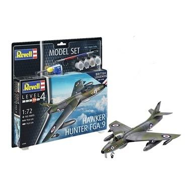 Revell Revell Maket Seti Raf Hawker Hunter Renkli